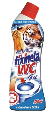 Fixinela WC gel oceán 750ml