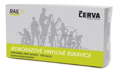 Rukavice Cerva RAIL (100ks/bal.)