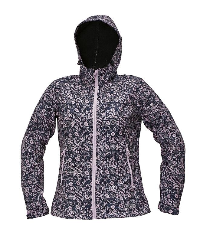 Dámska softshellová bunda Červa YOWIE PRINTED 8fe51a9a35