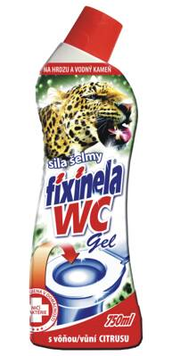 Fixinela WC gel citrus 750ml